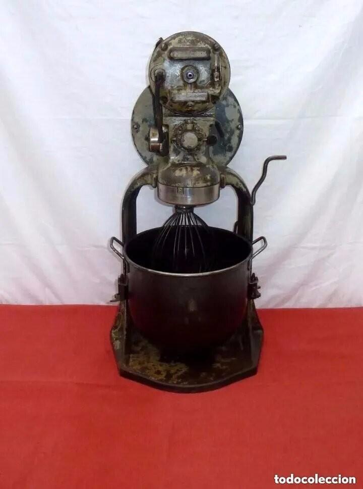 Antigüedades: Antigua Amasadora,Batidora.The Hobart Manufacturing Co Troy,o, U.S.A.Años 20. - Foto 27 - 226698620