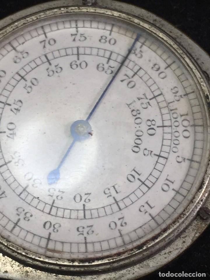 Antigüedades: Curvímetro antiguo medidor de distancias en plano. Arquitectura dibujo técnico FC deposé - Foto 5 - 226773930