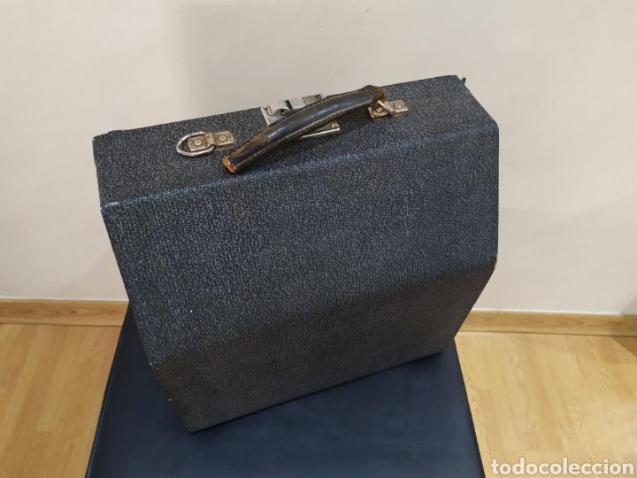 Antigüedades: Maquina escribir ERIKA 5, Seidel & Naumann A. G., Dresden; Alemania. Año 1940. - Foto 3 - 108819423