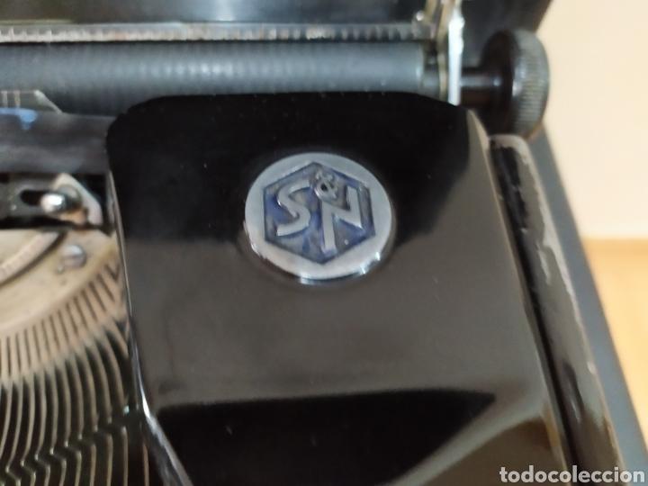 Antigüedades: Maquina escribir ERIKA 5, Seidel & Naumann A. G., Dresden; Alemania. Año 1940. - Foto 8 - 108819423