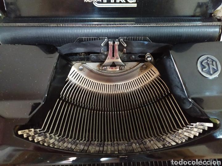 Antigüedades: Maquina escribir ERIKA 5, Seidel & Naumann A. G., Dresden; Alemania. Año 1940. - Foto 10 - 108819423