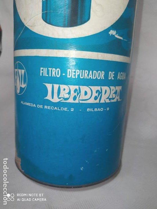 Antigüedades: ANTIGUO FILTRO DEPURADOR DE AGUA,UREDERRA(BILBAO) - Foto 9 - 226933240