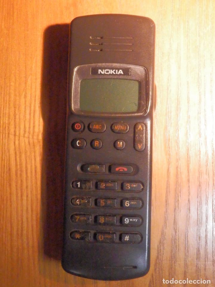 ANTIGUO TELÉFONO MOVIL DE LOS PRIMEROS - MOVILINE EMPEZABAN POR 908 - AÑOS 90´S - NOKIA 121, TXH-7L (Antigüedades - Técnicas - Teléfonos Antiguos)