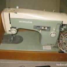 Antigüedades: MAQUIN DE COSER WERTHEIM. Lote 227113000