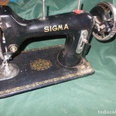 Antiquités: MAQUINA DE COSER CABEZA SIGMA. Lote 227187145