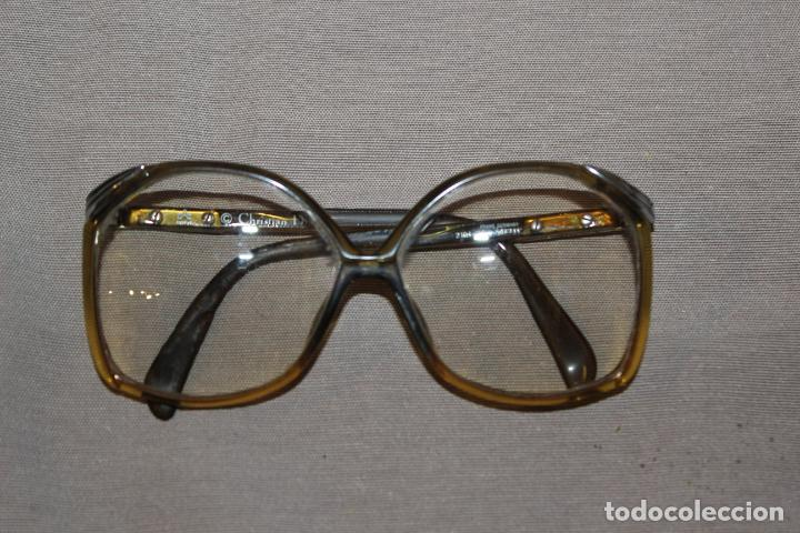 Antigüedades: 4 gafas graduadas 3 de pasta Vintage más 2 fundas-Christian Dior-2 indo-Ver fotos - Foto 7 - 227608415