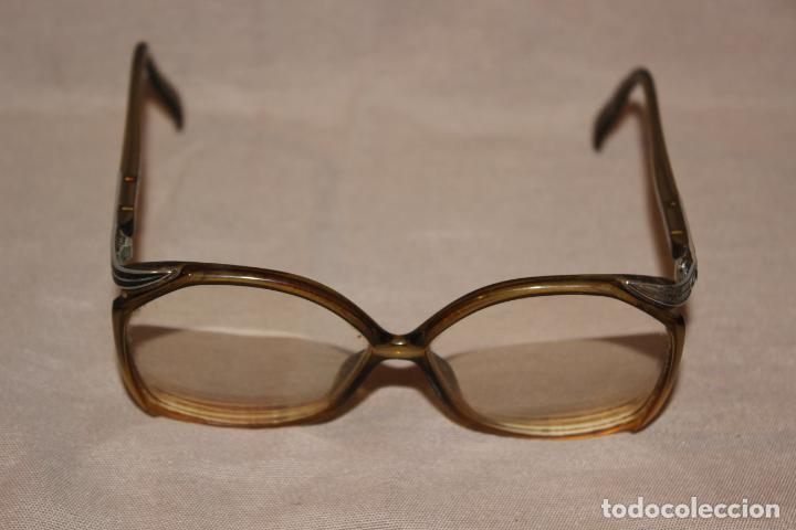 Antigüedades: 4 gafas graduadas 3 de pasta Vintage más 2 fundas-Christian Dior-2 indo-Ver fotos - Foto 8 - 227608415