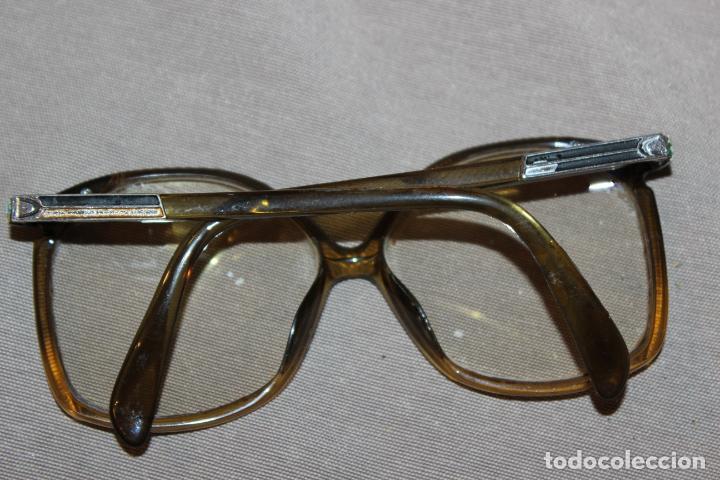 Antigüedades: 4 gafas graduadas 3 de pasta Vintage más 2 fundas-Christian Dior-2 indo-Ver fotos - Foto 12 - 227608415