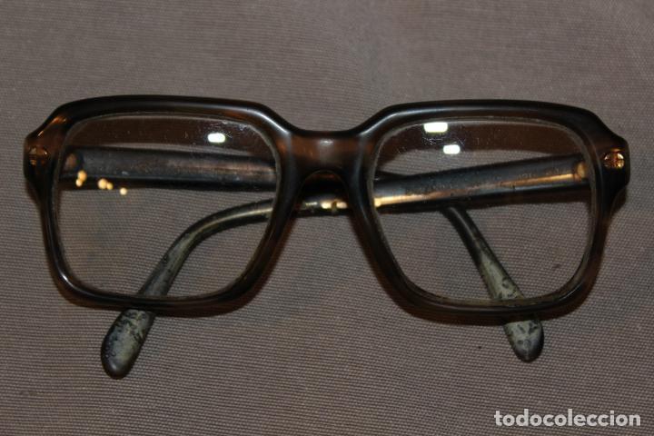 Antigüedades: 4 gafas graduadas 3 de pasta Vintage más 2 fundas-Christian Dior-2 indo-Ver fotos - Foto 13 - 227608415