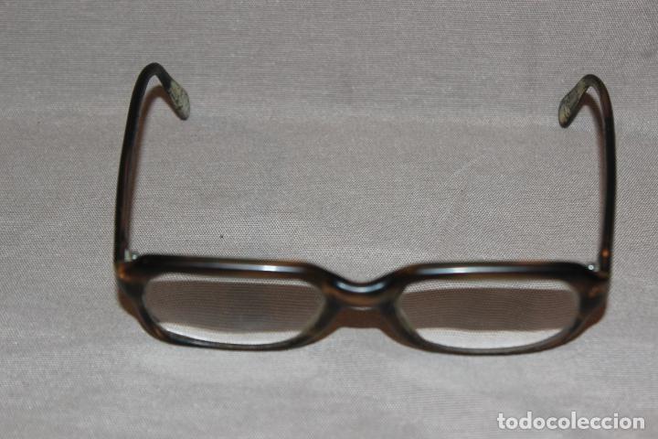 Antigüedades: 4 gafas graduadas 3 de pasta Vintage más 2 fundas-Christian Dior-2 indo-Ver fotos - Foto 14 - 227608415