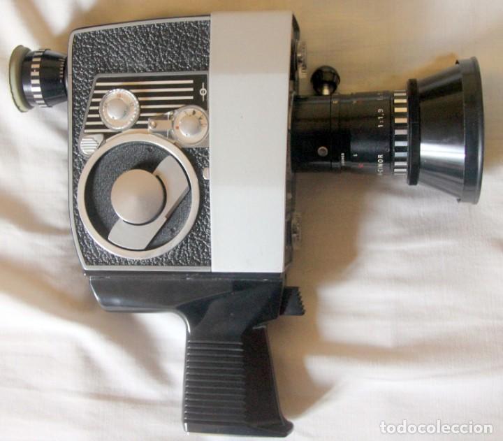 Antigüedades: Bolex Paillard P4 - Cámara De Cine 8mm, Zoom, Reflex – FUNDA DE PIEL – SUIZA 1965 - Foto 3 - 227648835