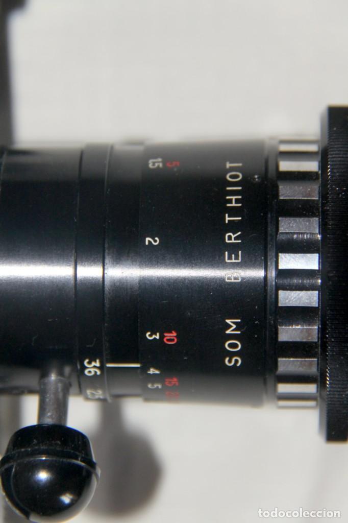 Antigüedades: Bolex Paillard P4 - Cámara De Cine 8mm, Zoom, Reflex – FUNDA DE PIEL – SUIZA 1965 - Foto 6 - 227648835