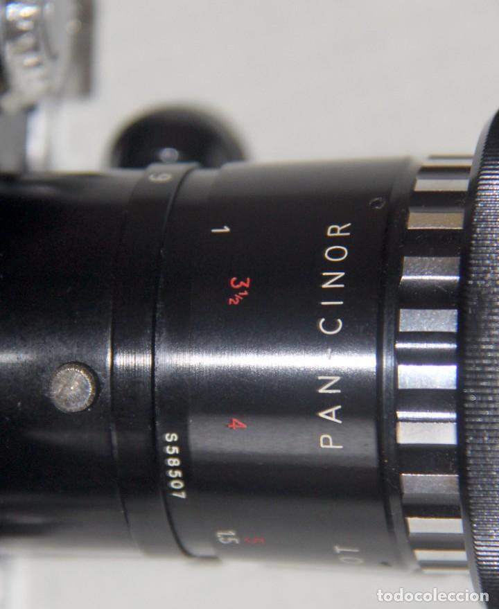 Antigüedades: Bolex Paillard P4 - Cámara De Cine 8mm, Zoom, Reflex – FUNDA DE PIEL – SUIZA 1965 - Foto 7 - 227648835