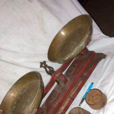 Antigüedades: ANTIGUA Y GRAN BAACULA DE 10 KG!. Lote 227659025