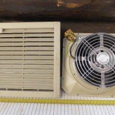 Antigüedades: VENTILADOR REFRIGERACIÓN AXIAL ELECTRICIDAD ELECTRÓNICA MONTAJE SILENCIOSO. Lote 227727881