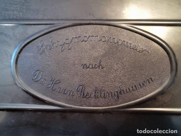 Antigüedades: TENSIÓMETRO- SPHYGMOMANOMETER NACH Dr.H. VON RECHLINGHAUSEN - Foto 10 - 227735910