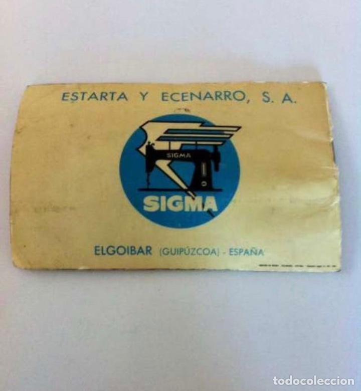 Antigüedades: Manual máquina de coser 1965 - Foto 2 - 227784506