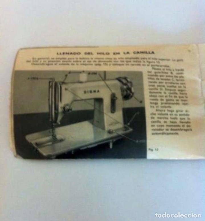Antigüedades: Manual máquina de coser 1965 - Foto 3 - 227784506