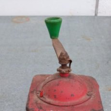 Antigüedades: MOLINILLO DE CAFE ANTIGUO MARCA ELMA METALICO. Lote 227797171