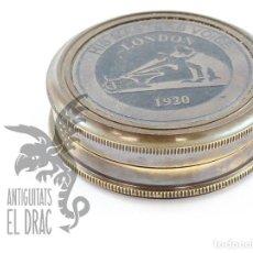 Antiquités: COMPÁS BRÚJULA MARÍTIMA CAJA LA VOZ DE SU AMO. Lote 227813438
