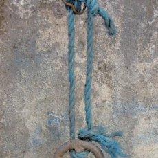 Antigüedades: BOYA DE ALUMINIO , TORRE DE HERCULES. Lote 227847640