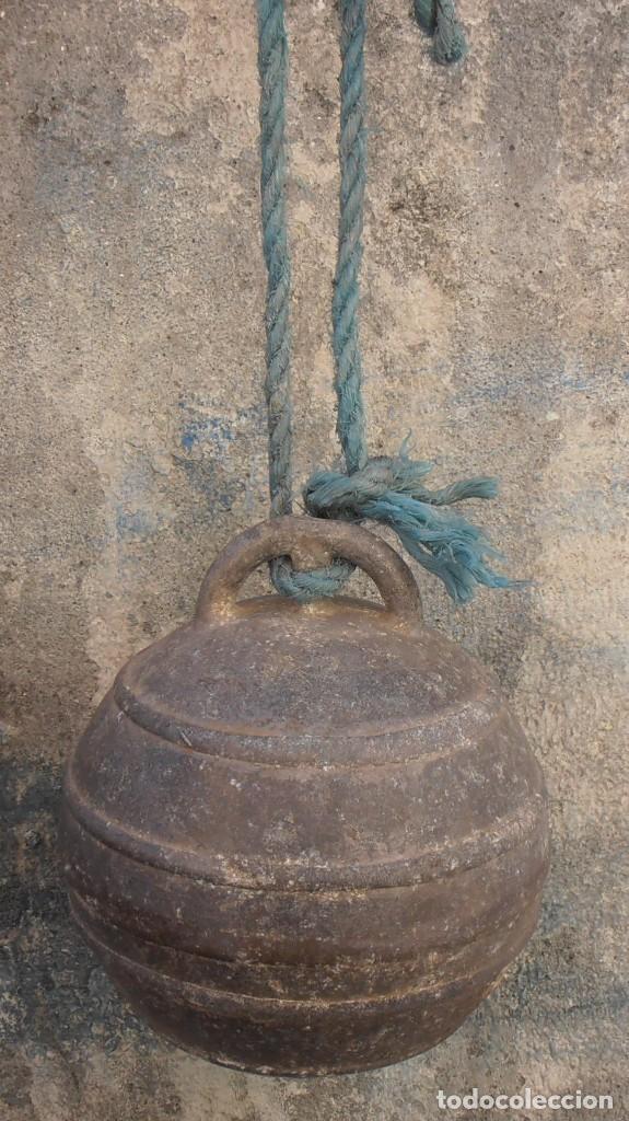 Antigüedades: BOYA DE ALUMINIO , TORRE DE HERCULES - Foto 2 - 227847640