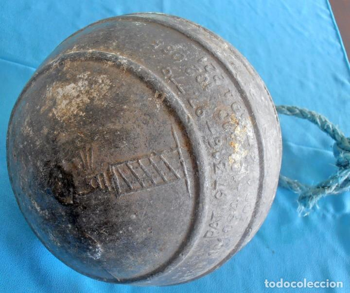Antigüedades: BOYA DE ALUMINIO , TORRE DE HERCULES - Foto 3 - 227847640