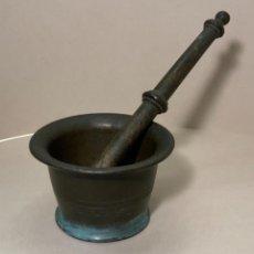 Antigüedades: PEQUEÑO MORTERO FARMACIA (S.XVIII-XIX). Lote 227900875