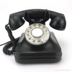 Teléfonos: TELEFONO DE BAQUELITA NEGRO STANDARD ELECTRICA 5523EZ ABONADOS CTNE TELEFONICA FUNCIONA ENVIO GRATIS. Lote 227932200