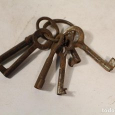 Antigüedades: LOTE DE 6 LLAVES ANTIGUAS. Lote 227942345