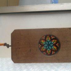 Antiquités: MAGNIFICA DIAPOSITIVA CALEIDOSCOPIO MAGICO PARA LINTERNA MAGICA PROYECTOR 243.00 EUR.. Lote 228043505