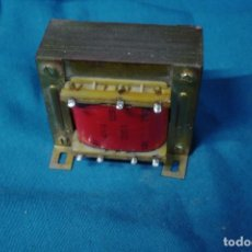 Antigüedades: TRANSFORMADOR MARCA ZEMPER 125/220 V. - 9/ 12 V. 45 VA.. Lote 228055750