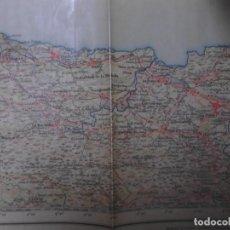 Antigüedades: MAPA- LLANES- TOPOGRAFICO-DIRECCION GRAL INSTITUTO GEOGRAFICO-CATASTRAL 1º EDICION AÑO 1943. Lote 228067075