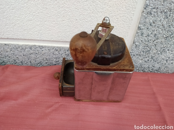 Antigüedades: Molinillo madera y chapa Peugeot freres - Foto 11 - 228068430