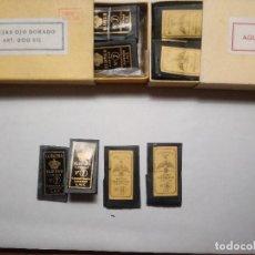 Oggetti Antichi: CUATRO CARPETAS CON AGUJAS CORONA. Lote 228080245