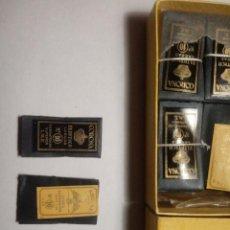 Antiquités: DOS CARPETITAS AGUJAS MARCA CORONA E IMPERATOR. Lote 228080760