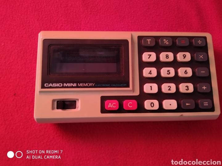 CASIO-MINI MEMORY (Antigüedades - Técnicas - Aparatos de Cálculo - Calculadoras Antiguas)