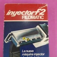 Antigüedades: MÁQUINA INYECTOR F2 FILOMARIC , NUEVA SIN USO , AÑOS 1970. Lote 228263460