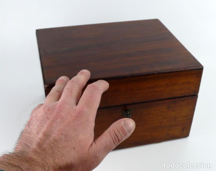 Antigüedades: Portable Apothecary Cabinet -Mahogany- Boticario médico -Siglo XIX - Foto 21 - 228291047