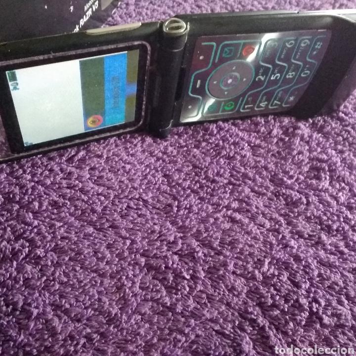 Teléfonos: LOTE ANTIGUOS MÓVILES ( MOTOROLA V100 y RARZ V3 + ERICSSON GF 788 + NOKIA 2680s-2 ) - Foto 26 - 228423070