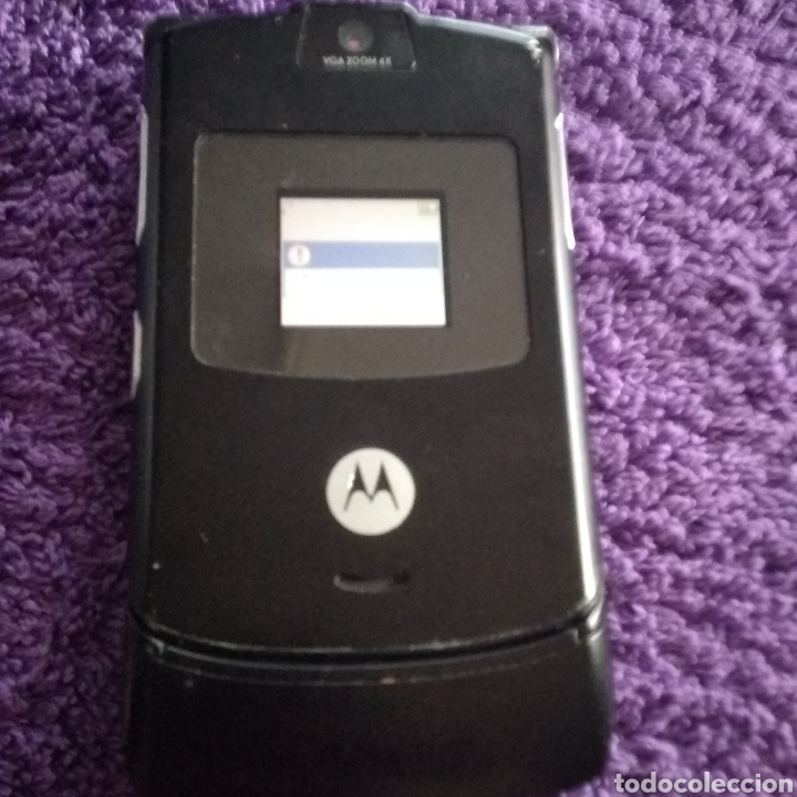 Teléfonos: LOTE ANTIGUOS MÓVILES ( MOTOROLA V100 y RARZ V3 + ERICSSON GF 788 + NOKIA 2680s-2 ) - Foto 27 - 228423070