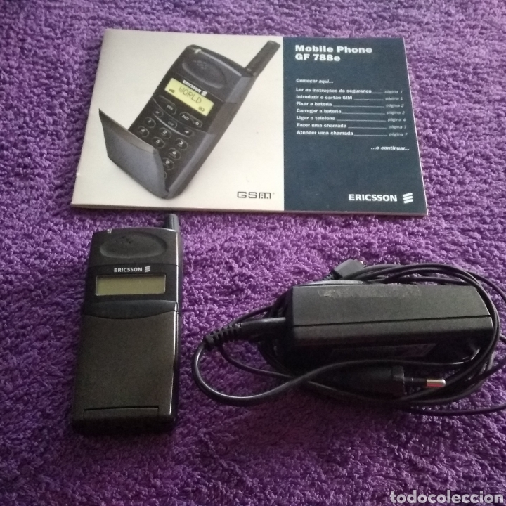Teléfonos: LOTE ANTIGUOS MÓVILES ( MOTOROLA V100 y RARZ V3 + ERICSSON GF 788 + NOKIA 2680s-2 ) - Foto 31 - 228423070