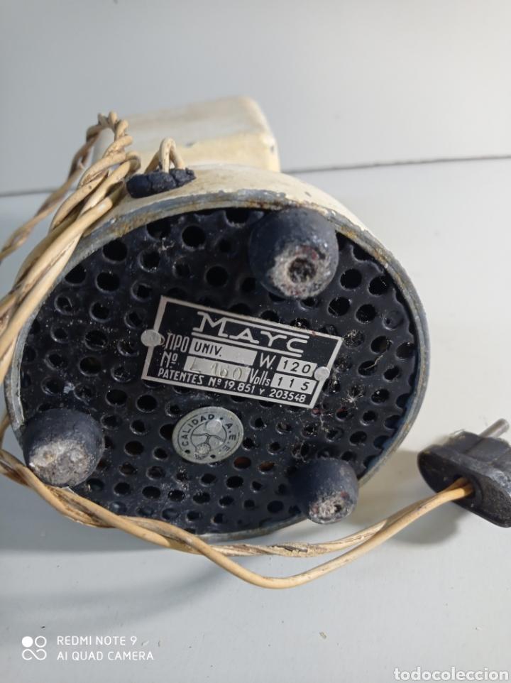 Antigüedades: Antiguo molinillo de café de la marca Otsein, modelo Mayc. Aluminio robusto. - Foto 5 - 228444513