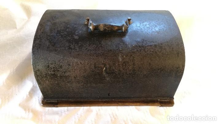 Antigüedades: MAGNÍFICA MÁQUINA DE ESCRIBIR MIGNON Nº2, RESTAURADA Y FUNCIONANDO - Foto 8 - 228554945