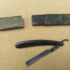 Antigüedades: NAVAJA BARBERO ANTIGUA. Lote 228626280