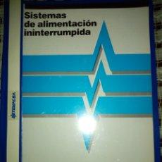 Antigüedades: SISTEMAS DE ALIMENTACIÓN ININTERRUMPIDA, CATÁLOGO TEMAX. Lote 228720500
