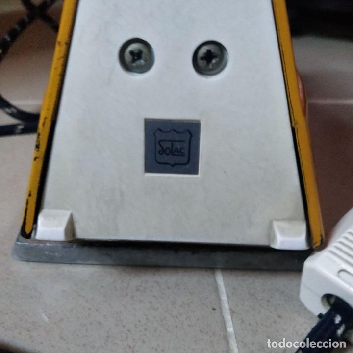 Antigüedades: Plancha vapor-spray Mod 753 SOLAC - Foto 2 - 228724190