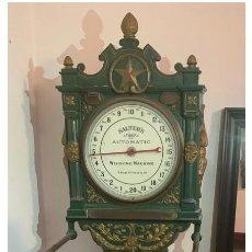 Antigüedades: ISABELINA S.XIX. GEORGE SALTER & CO. ¡BASCULA PÚBLICA AUTOMÁTICA - 2 METROS DE ALTURA!. Lote 228927315