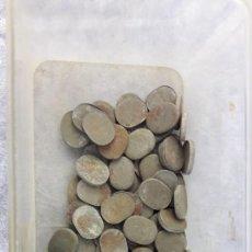 Antigüedades: ANTIGUAS PESAS PARA COLOCAR EN LOS BAJOS DE LOS VESTIDOS Y FALDAS. Lote 229026585