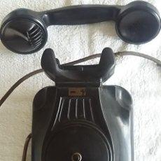 Teléfonos: ANTIGUO TELÉFONO DE PARED SIN DIAL, BAQUELITA, DE STANDARD ELÉCTRICA, PARA LA CTNE. Lote 229122690